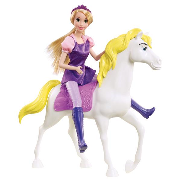 Princesse disney raiponce et son cheval magique de mattel - Cheval raiponse ...