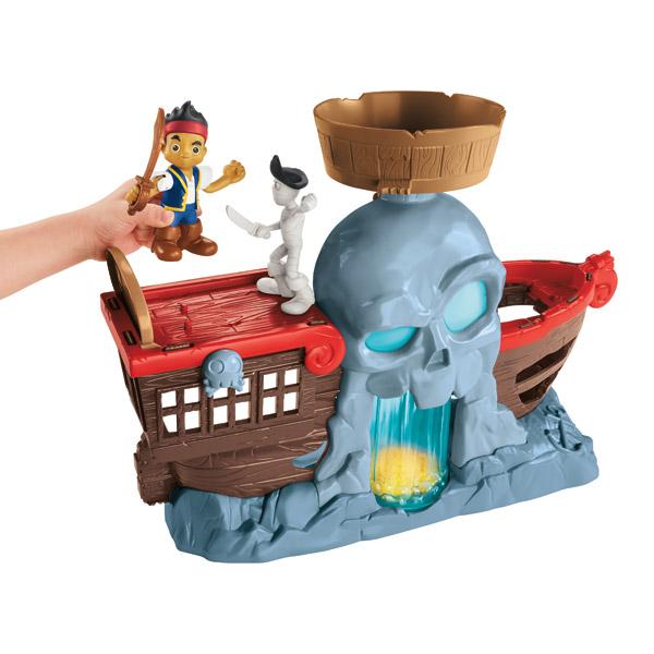 Jake et les Pirates Naufrage sur l´île du Crâne