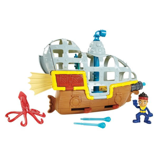 Bucky sous marin jake et les pirates fisher price friends king jouet h ros univers fisher - Jake et les pirates ...