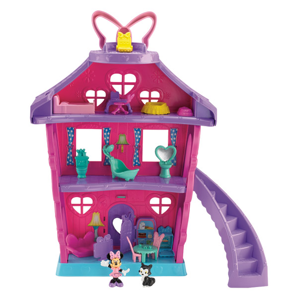 Grande Maison Minnie Fisher Price Friends : King Jouet, Héros ...