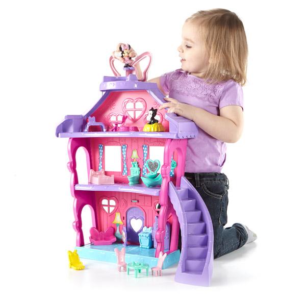 Grande maison minnie fisher price friends king jouet for Jouet exterieur 2 ans