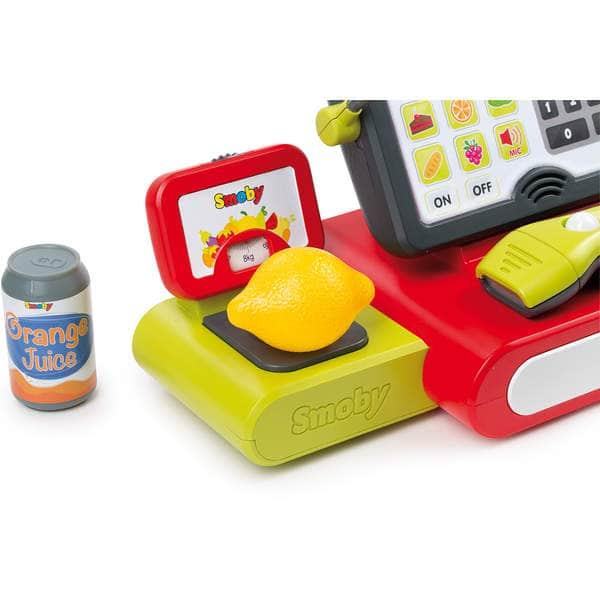 caisse enregistreuse lectronique smoby king jouet faire comme les grands smoby jeux d. Black Bedroom Furniture Sets. Home Design Ideas