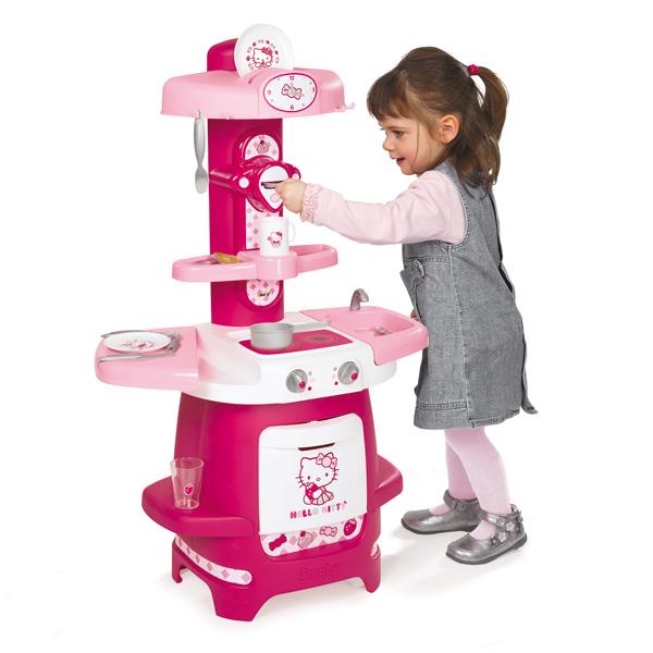cuisine cooky hello kitty smoby king jouet cuisine et dinette smoby jeux d 39 imitation. Black Bedroom Furniture Sets. Home Design Ideas