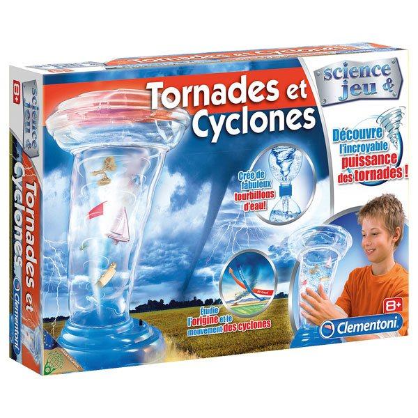 tornades et cyclones clementoni king jouet jeux scientifiques clementoni jeux et jouets. Black Bedroom Furniture Sets. Home Design Ideas