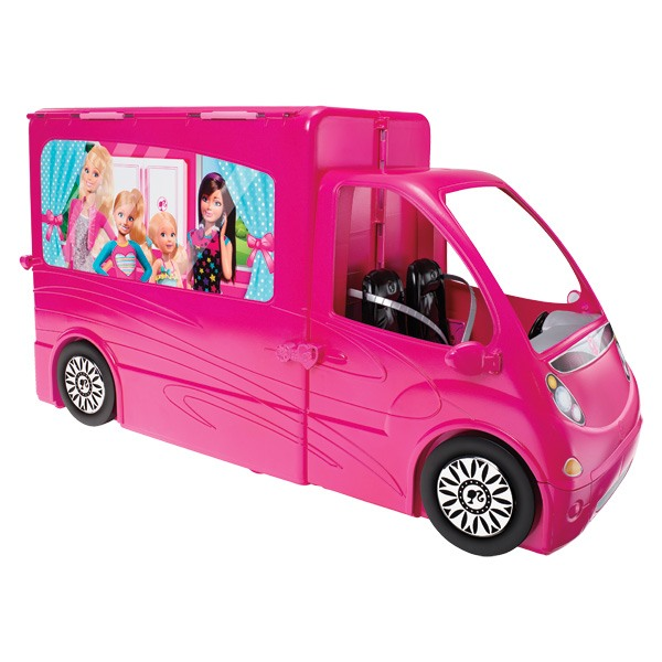 camping car de barbie. Black Bedroom Furniture Sets. Home Design Ideas
