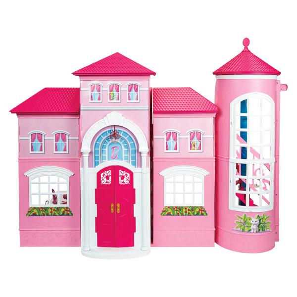 Nouvelle maison de barbie mattel king jouet accessoires - Supercasa de barbie ...