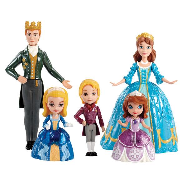 mattel princesse sofia la nouvelle famille royale  Acheter pas cher