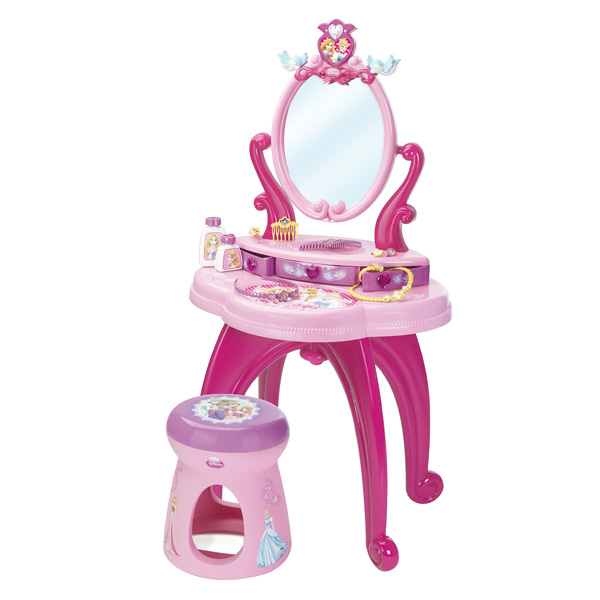 Coiffeuse sur pied disney princesse smoby king jouet coiffure maquillage smoby f tes for Coiffeuse pour enfant