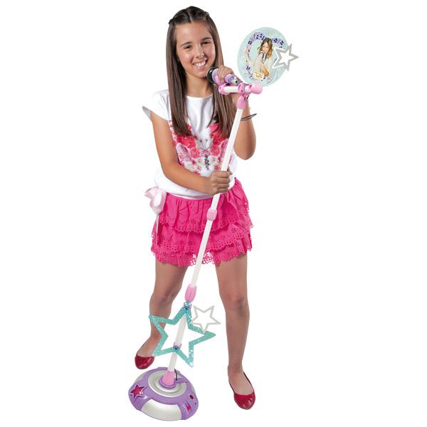 Micro sur pied violetta smoby king jouet jouets - Jeux gratuits de violetta ...