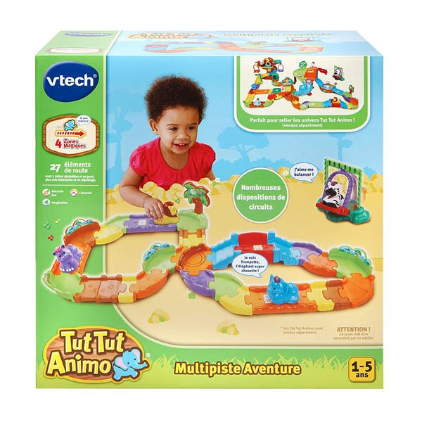 tut tut animo vtech multi piste aventure vtech king jouet garages et circuits vtech. Black Bedroom Furniture Sets. Home Design Ideas