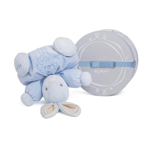 Perle - Patapouf lapin bleu medium
