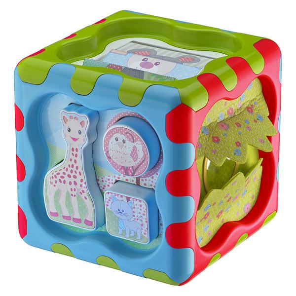 Cubbig sophie la girafe cube d 39 activit s vulli king - Table d eveil sophie la girafe ...