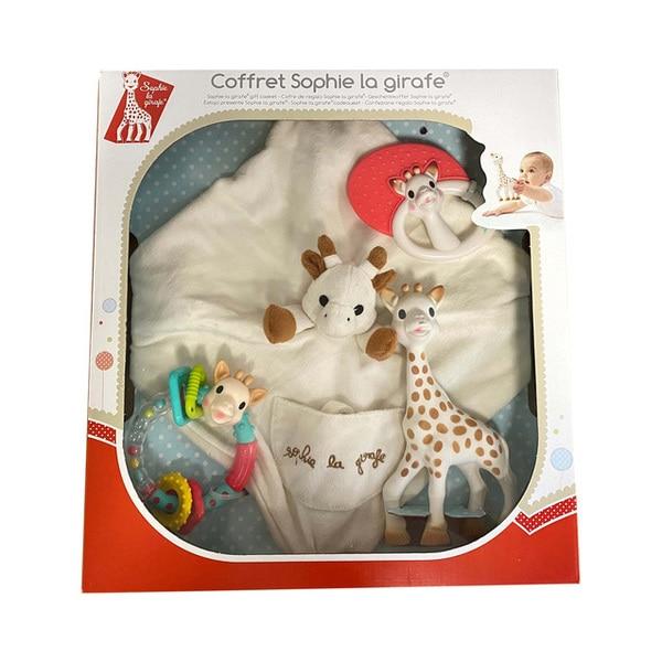 coffret eveil sophie la girafe vulli king jouet activit s d 39 veil vulli jeux d 39 veil. Black Bedroom Furniture Sets. Home Design Ideas