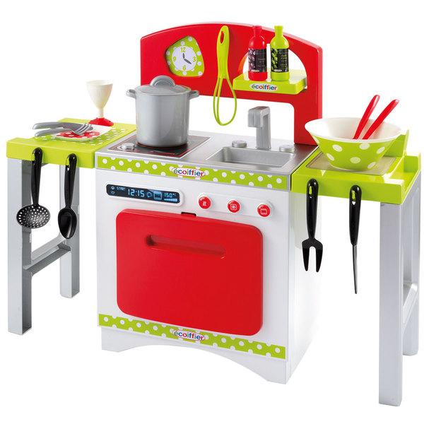Cuisine en bois king jouet for Cuisine bois jouet