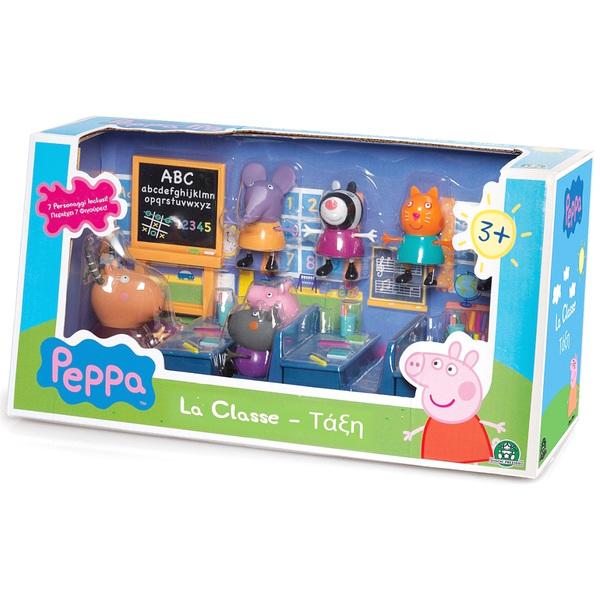 Peppa Pig Salle de Classe 7 Personnages