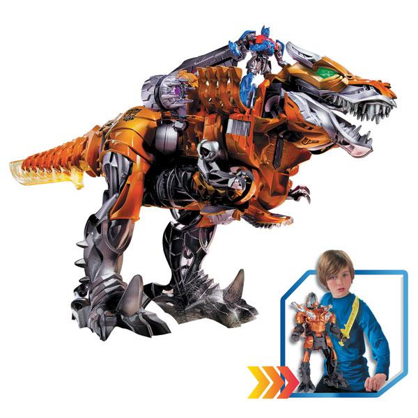 transformers 4 dino retro friction optimus prime et