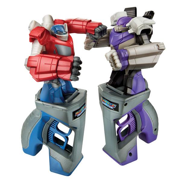 transformers battle master pack de 2 optimus prime et megatron hasbro king jouet h ros. Black Bedroom Furniture Sets. Home Design Ideas
