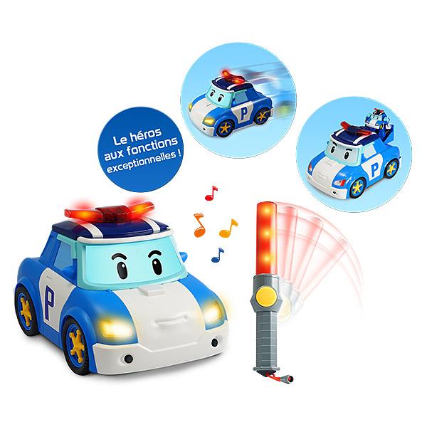 Robocar infrarouge poli le h ros ouaps king jouet - Le club robocar poli ...