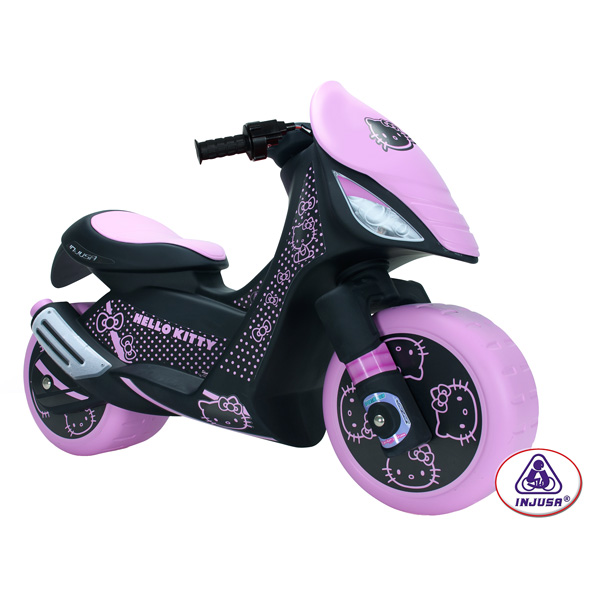 scooter hello kitty 6 volts injusa king jouet v hicules lectriques injusa sport et jeux de. Black Bedroom Furniture Sets. Home Design Ideas