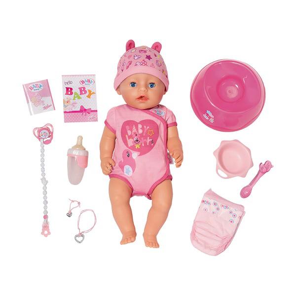Poupon Interactif Fille 43 cm - Baby Born
