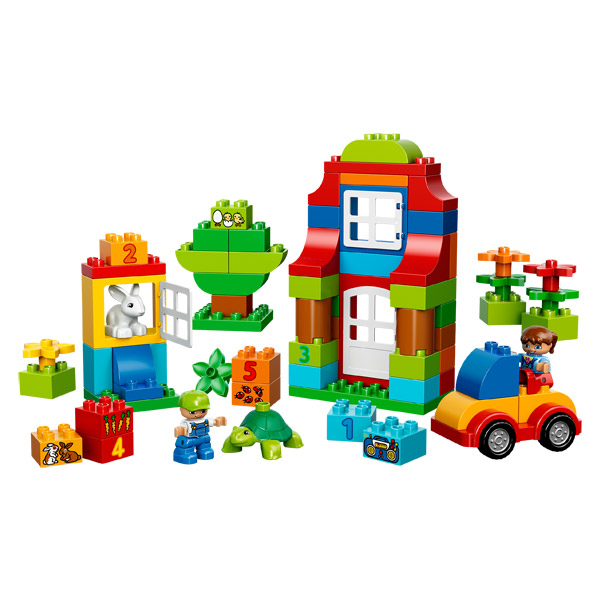 10580 duplo boite amusante luxe xl de lego - Boite rangement lego pas cher ...