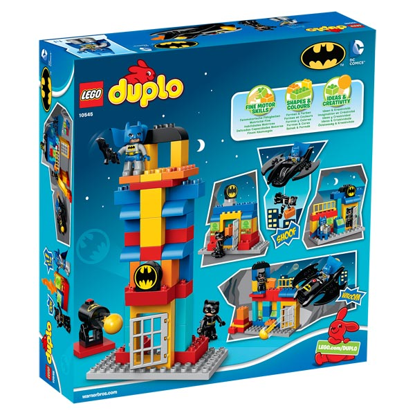 10545 duplo super heroes batman et catwoman lego king jouet lego planchettes autres lego. Black Bedroom Furniture Sets. Home Design Ideas