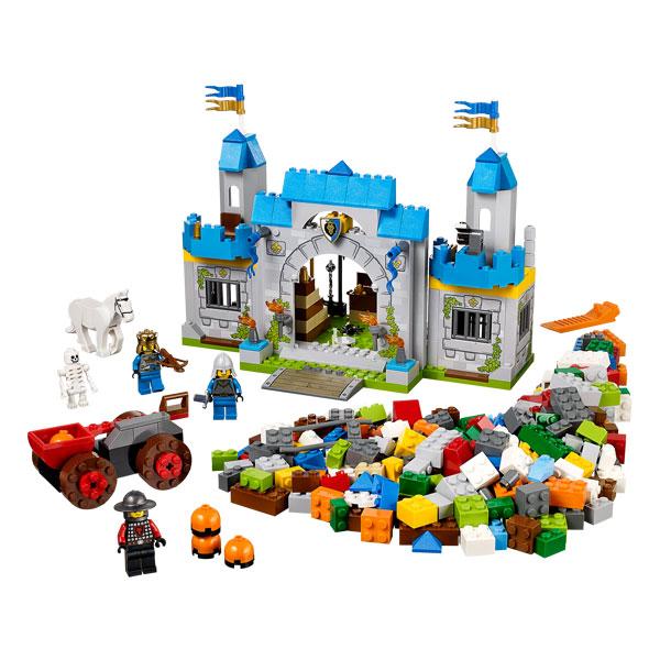 10676 lego juniors boite xl du chateau fort lego king jouet lego planchettes autres lego. Black Bedroom Furniture Sets. Home Design Ideas