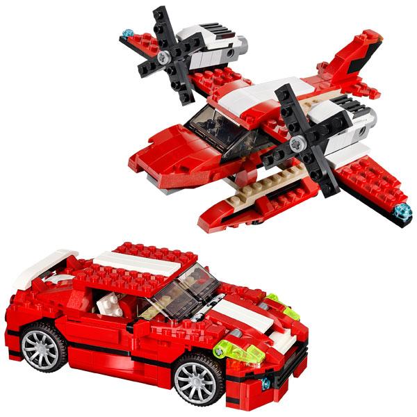 31024 lego creator bolide rouge de lego. Black Bedroom Furniture Sets. Home Design Ideas