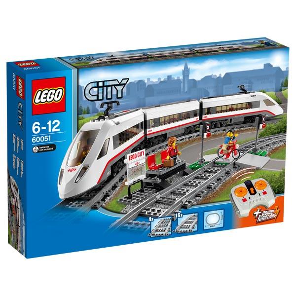 60051 lego city le train de passagers grande. Black Bedroom Furniture Sets. Home Design Ideas