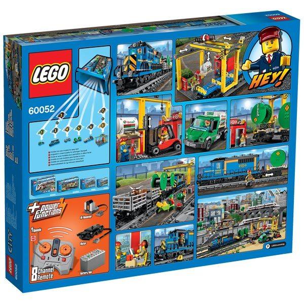60052 lego city train de marchandises lego king jouet. Black Bedroom Furniture Sets. Home Design Ideas