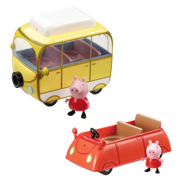 Peppa-Véhicule avec Figurine