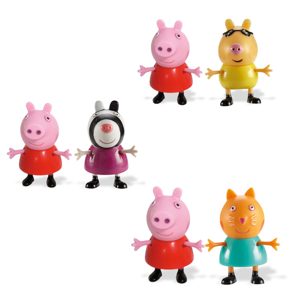 Peppa pig figurines peppa et pedro le poney giochi king jouet figurines et cartes - Jouet peppa pig carrefour ...