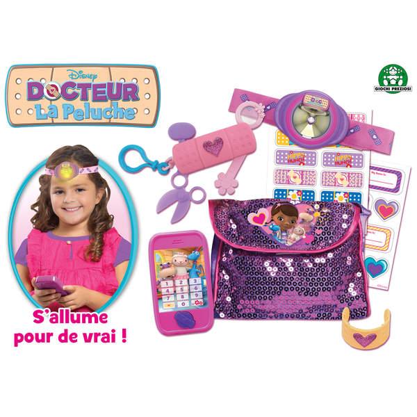 Les accessoires de Docteur la Peluche