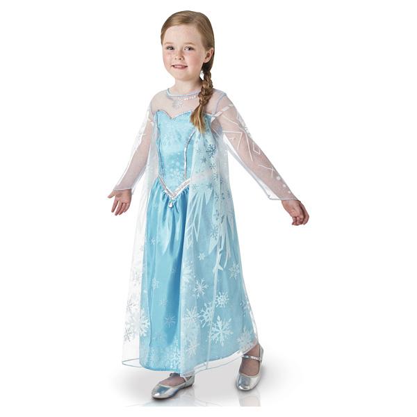 Panoplie luxe Reine des Neiges Elsa taille M