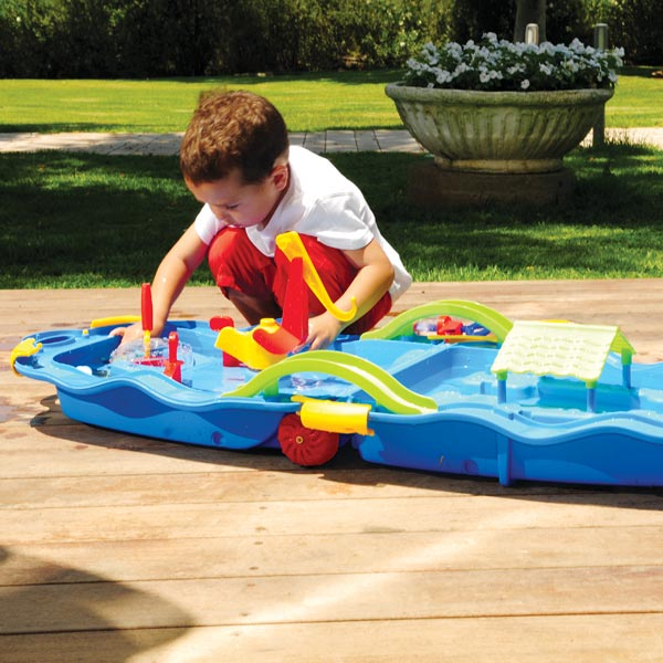 trolley jeu d 39 eau king jouet piscines jeux de plage. Black Bedroom Furniture Sets. Home Design Ideas