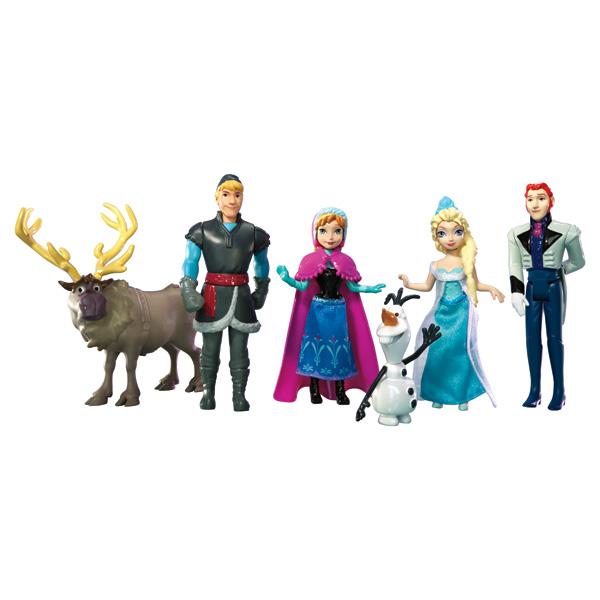 coffret personnages la reine des neiges mattel king jouet figurines et cartes collectionner. Black Bedroom Furniture Sets. Home Design Ideas