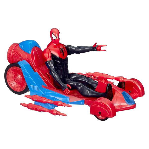 Spiderman jeux et jouets spiderman sur king jouet - Jeux de spiderman voiture ...