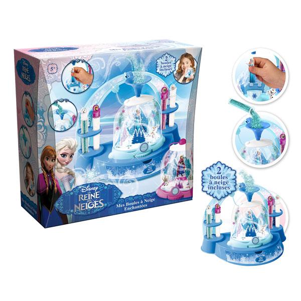 mes boules à neige la reine des neiges canal toys : king jouet