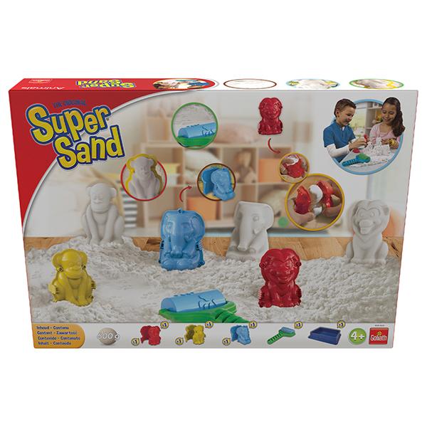 super sand animal goliath king jouet pate modeler modelage et gravure goliath jeux cr atifs. Black Bedroom Furniture Sets. Home Design Ideas