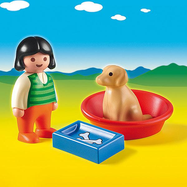 6796-Enfant avec Chien - Playmobil