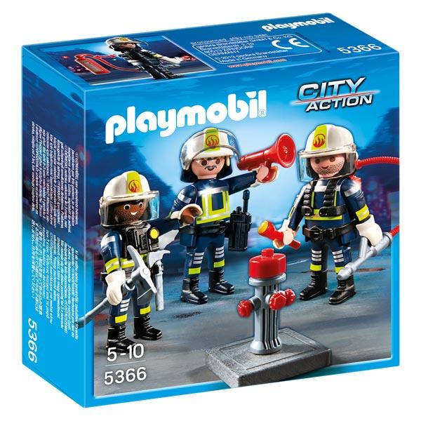 5366-Unité de pompiers - Playmobil pompiers et aéroport