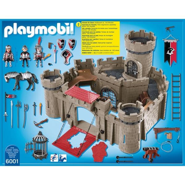 6001 citadelle des chevaliers de l 39 aigle playmobil - Chateau chevalier playmobil ...