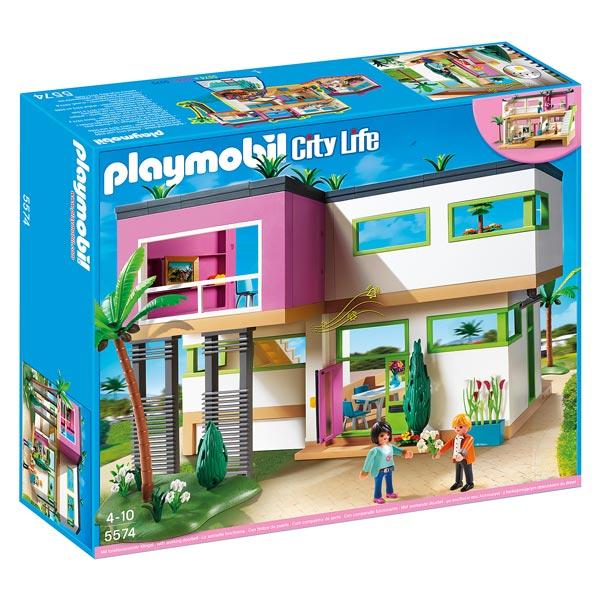 5574 maison moderne playmobil king jouet playmobil - Magasin de tout pas cher ...