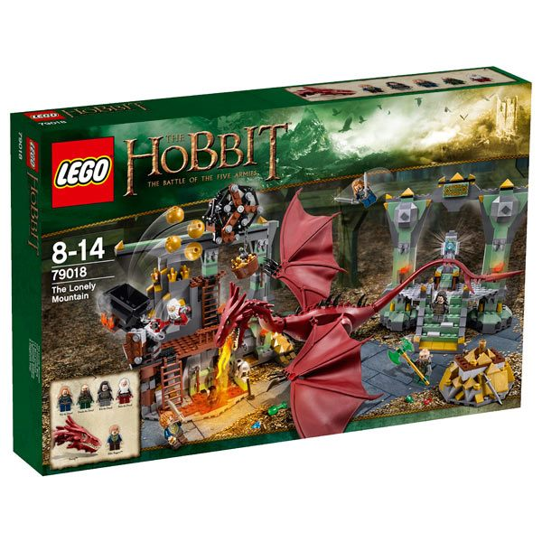 REVIEW LEGO 79018  The Hobbit  Le Mont Solitaire  HelloBricks Blog LEGO