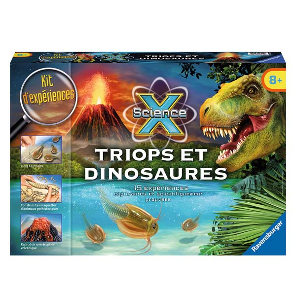 science x triops et dinosaures - Jeux De Dinosaure King