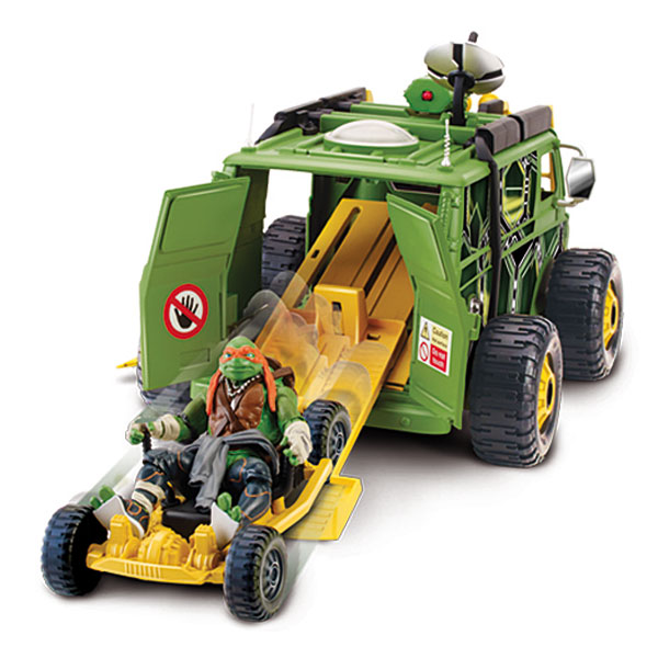 Camion de combats tortues ninja movie de giochi - Vehicule tortue ninja ...