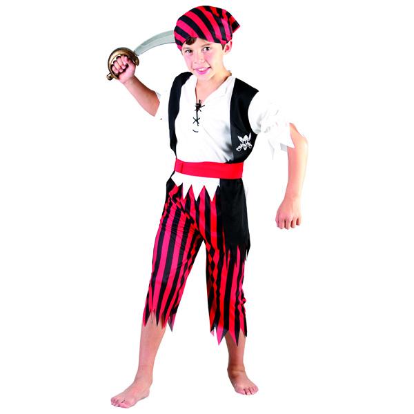 Costume de pirate 4/6 ans