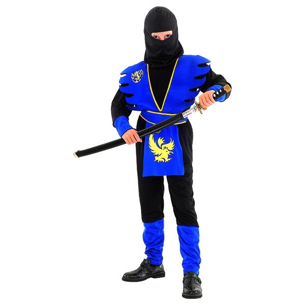 Costume Ninja Bleu 7/9 ans