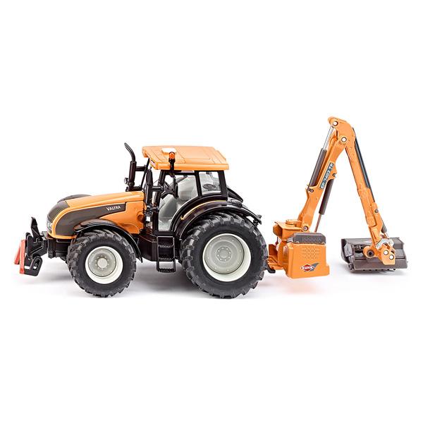tracteur valtra avec faucheuse siku king jouet v hicules de chantier et tracteurs siku. Black Bedroom Furniture Sets. Home Design Ideas