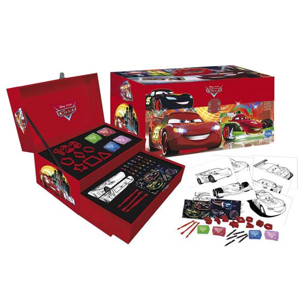 Mallette coloriage cars cife king jouet dessin et peinture cife jeux cr atifs - Mallette a dessin professionnel ...